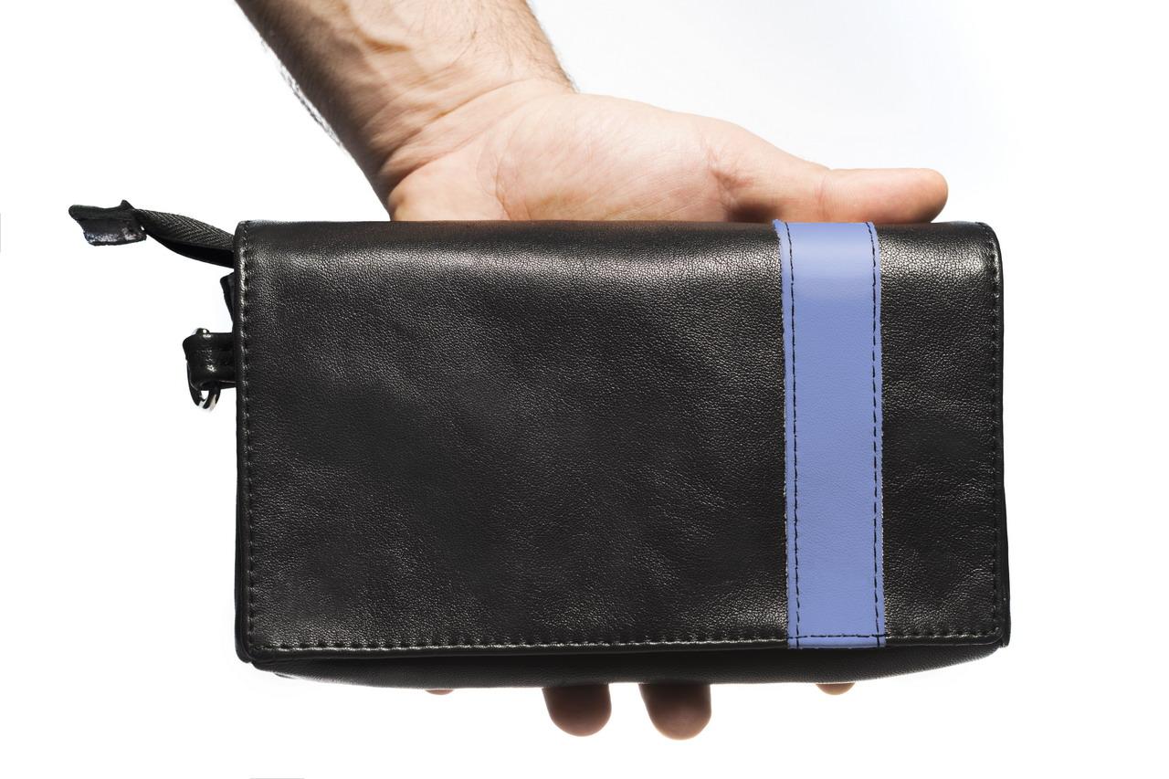 codice promozionale 9a2c0 cc9ff Uomo - rossodesiderio - Pochette borsello da uomo vera pelle ...