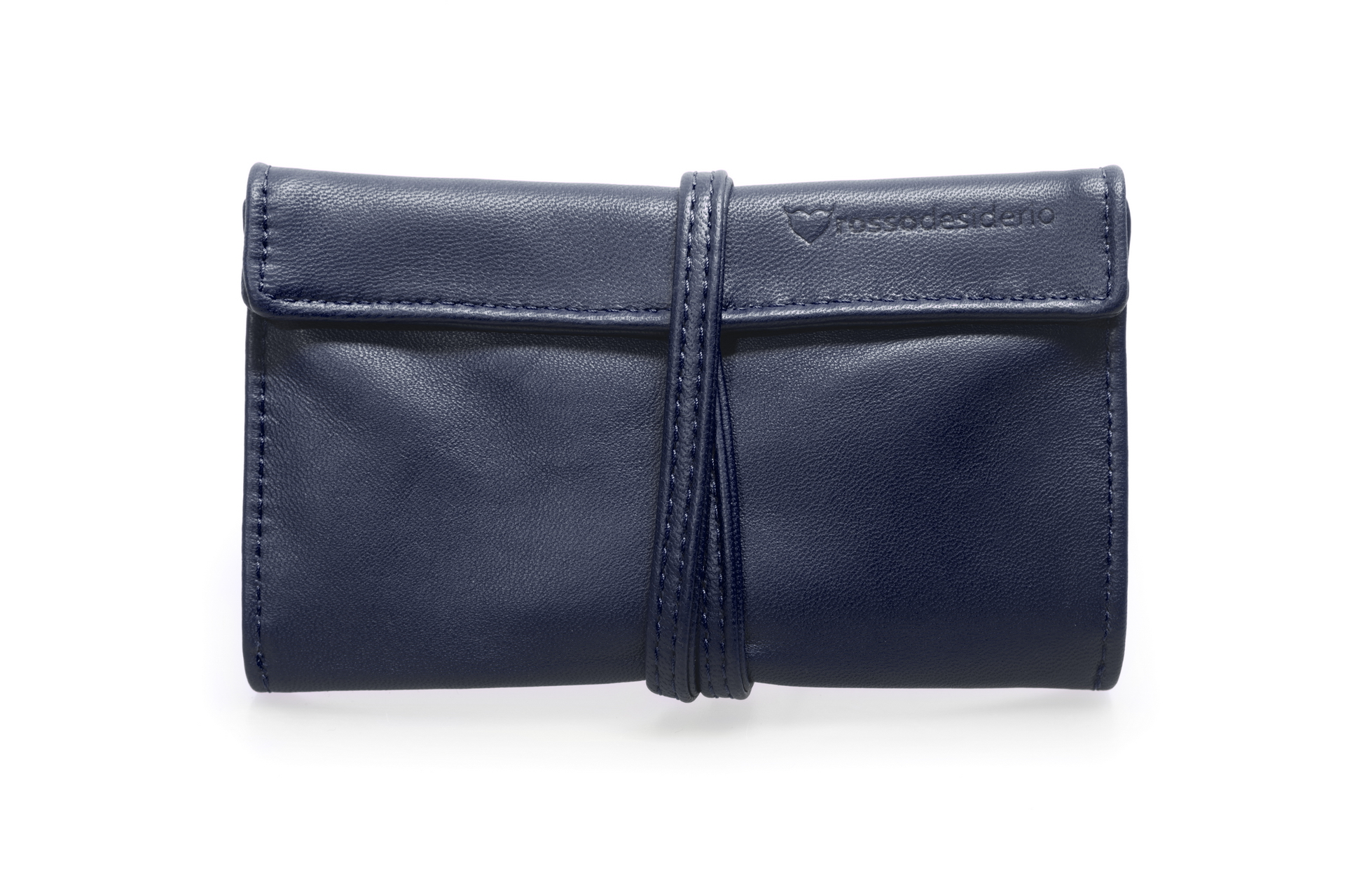 Real leather bleu tobacco pouch