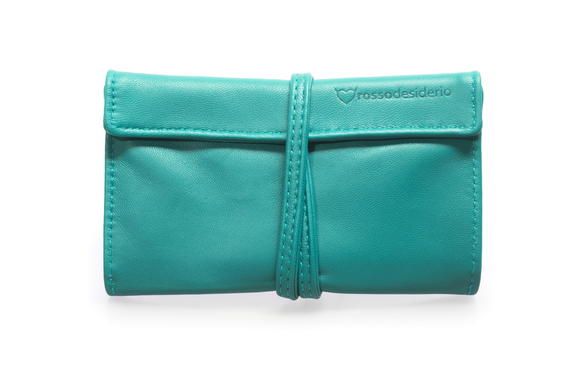 Real leather Tiffany tobacco pouch