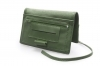 Real leather green tobacco pouch